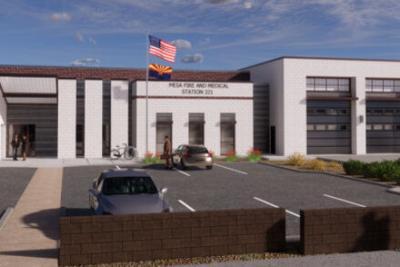 East Mesa fire station