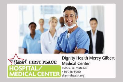 Dignity Health Mercy Gilbert Medical Center 3555 S. Val Vista Dr.