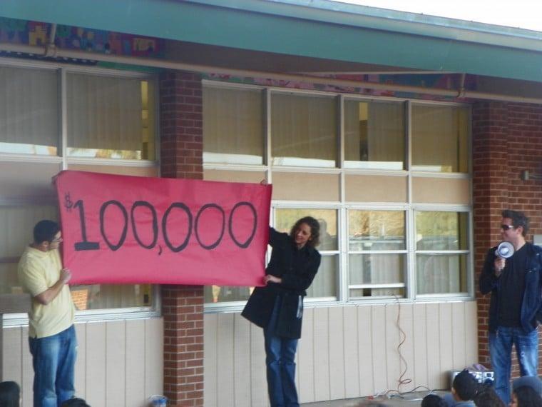$100,000 education grant -- Galveston Elementary