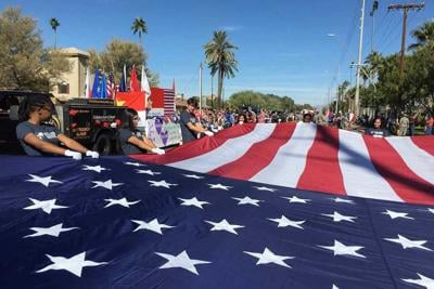 East Valley Veterans Day Parade