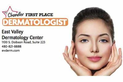 East Valley Dermatology Center  1100 S. Dobson Road, Suite 223  480-821-8888