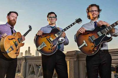 Perry Smith, John Storie and Will Brahm New West Guitar Group