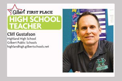 Cliff Gustafson Highland High School Gilbert Public Schools
