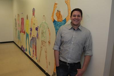 Harrison Rogers at his Lexington Life Academy