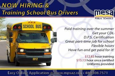 Mesa Public Schools bus drivers