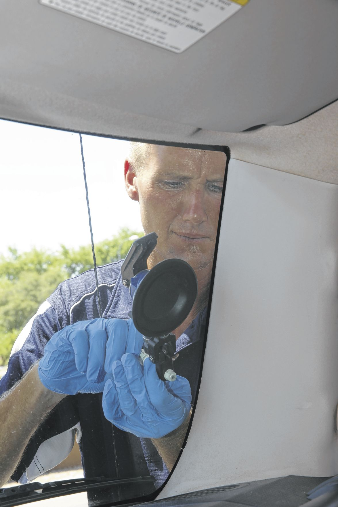 Police Mostly See Ed Glass As Safety Hazard Not Violation