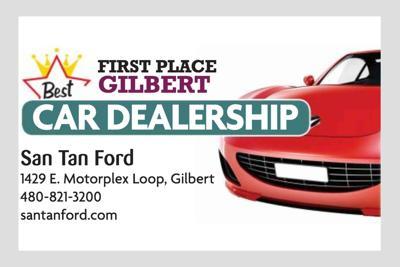 San Tan Ford 1429 E. Motorplex Loop, Gilbert