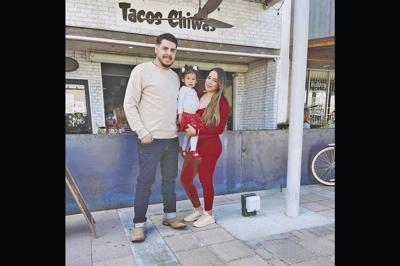 Armando Hernandez and his wife Nadia Holguin