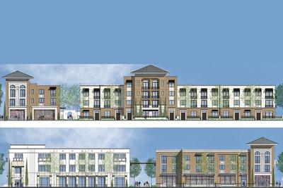 This rendering shows the plans for phase 1 of the project