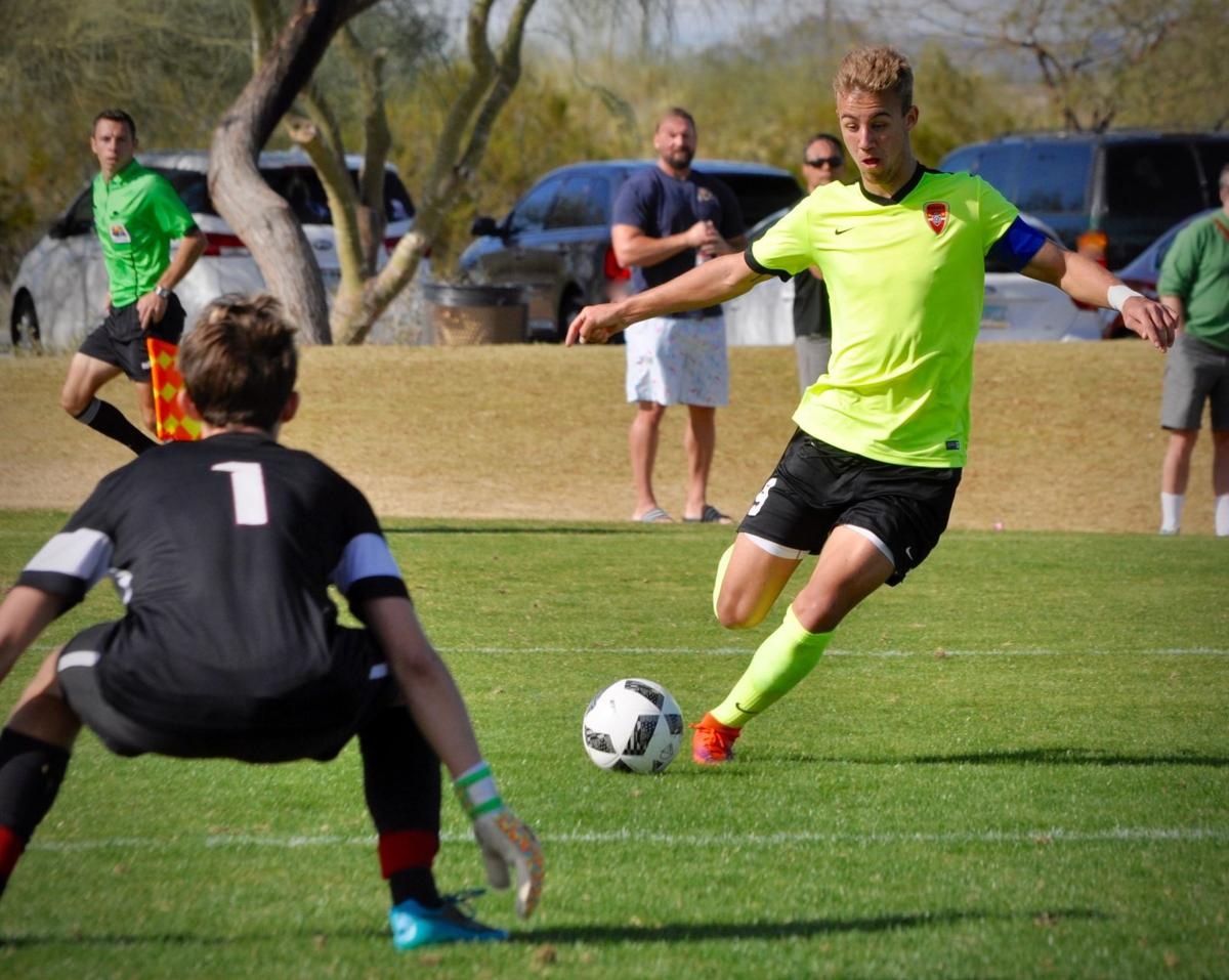 Corona vs Hamilton soccer boys