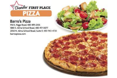 Barro's Pizza  950 E. Riggs Road  480-895-2555