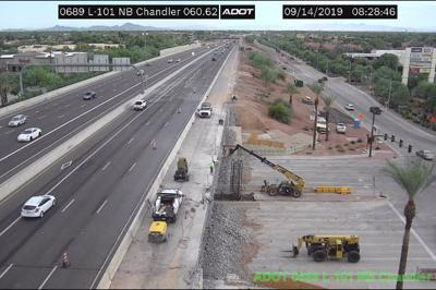 Loop 101 Price Road Freeway in Chandler