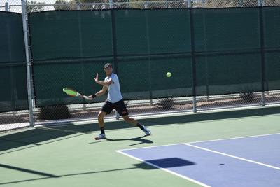Mountain View graduate Jesse Miritello has seen early success as a member of the Arizona Christian University tennis team.