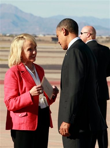 Barack Obama, Jan Brewer