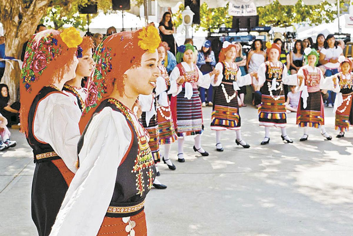 Combining ancient Greek culture with today's, the weekend celebration includes foods, pastries, live music, costumed folk dancing, imports, arts and crafts and other merchandise