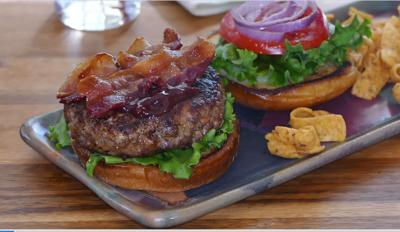There are lots of reasons why this burger is moist and memorable! Dive into the recipe to find out.