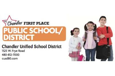 Chandler Unified School District  1525 W. Frye Road  480-812-7000