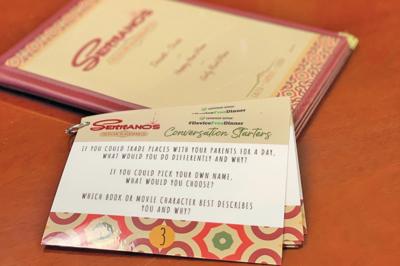Serrano's adopts family-friendly dinner plan Device Free
