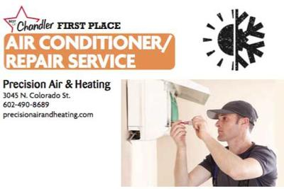 Precision Air & Heating  3045 N. Colorado St.  602-490-8689