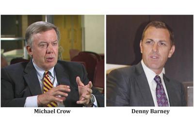 Michael Crow, Denny Barney