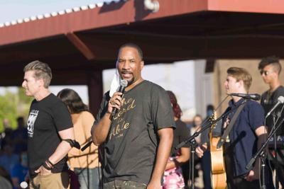 Pastor Andre Miller of New Beginnings Christian Church