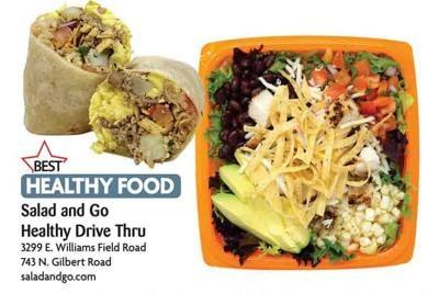Salad and Go Healthy Drive Thru