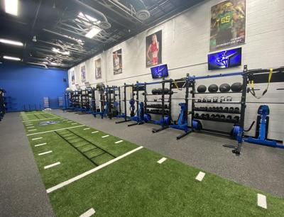 Valley Christian weight room