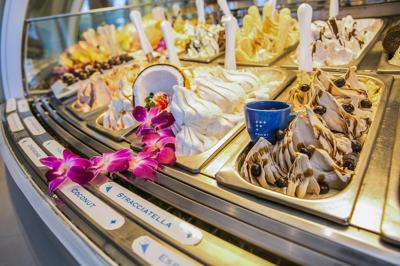 More than 60 flavors means you'll never get bored of this silky frozen treat at Frost Gelato.