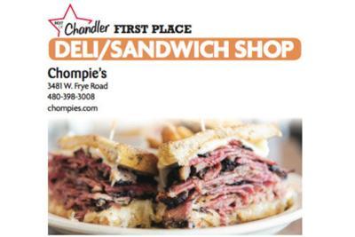 Chompie's 3481 W. Frye Road 480-398-3008