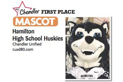 Hamilton High School Huskies  Chandler Unified