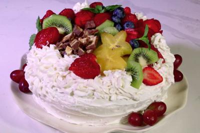 Strawberry Excuse Cake