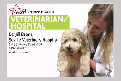 Dr. Jill Bronz, Seville Veterinary Hospital 6348 S. Higley Road, #109