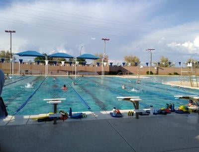 Casteel swim
