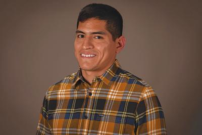 Jacobo Perez, a student at Mesa Community College