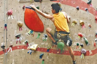 David Caparon Phoenix Rock Gym