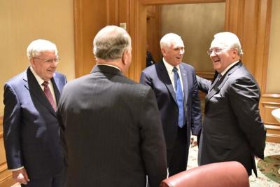 Church of Jesus Christ of Latter-Day Saints in Salt Lake City Mike Pence