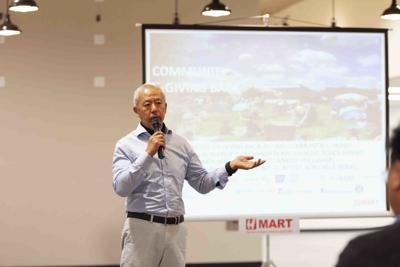 H Mart Sam Q. Kim