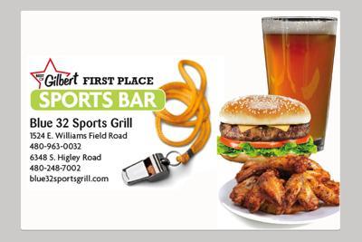 Blue 32 Sports Grill 1524 E. Williams Field Road