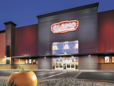 Alamo Drafthouse opened it's first Arizona location at the end of 2016 in a 35,467 square-foot space at Chandler Crossings.