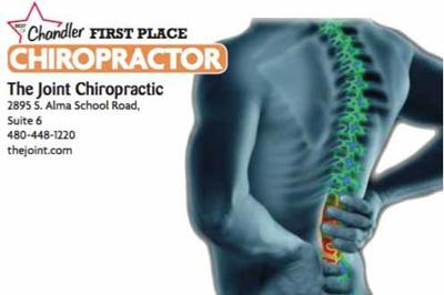 The Joint Chiropractic  2895 S. Alma School Road, Suite 6  480-448-1220