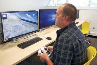 Dirk Van Voris Flight Simulator Chandler Gilbert Community College