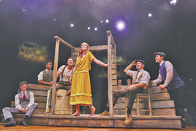 """Bright Star"" at Gilbert Hale Centre Theatre"
