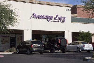 More than 180 people nationwide have claimed that Massage Envy therapists inappropriately touched them, including at this location at 6626 E. McKellips Road in Mesa.