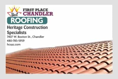 Heritage Construction Specialists 7407 W. Boston St., Chandler