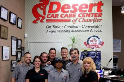 Best Auto Repair: Desert Car Care Center of Chandler