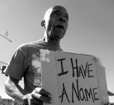 Homelessness art