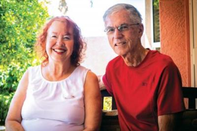 David and Sharon Moore Cuba