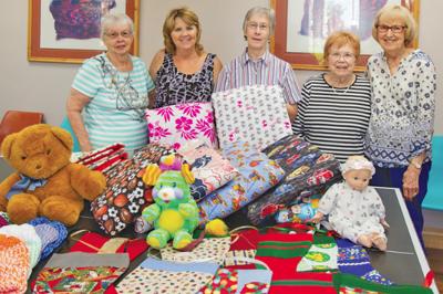 Springfield Ladies' blankets comfort traumatized kids
