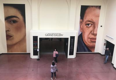 Visitors have come from around the world to visit the Frida Kahlo and Diego Rivera exhibit at the Heard Museum