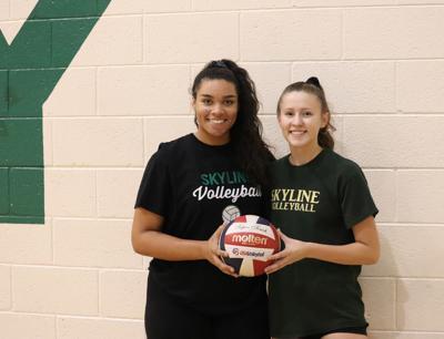 Skyline volleyball